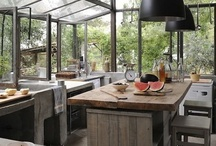 Rustic, industrial and vintage Home Decor / by Steven Bruce Design