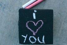 board chalk • memo • cork • card / chalkboard • corkboard • memoboards / by Cacayorin Hendrix
