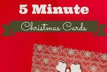 Christmas and Holiday Cards / My dream board for making beautiful holiday cards.  / by Marty Walden @ MartysMusings