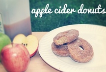 """An Apple a Day / They say """"an apple a day keeps the doctor away,"""" but a few of these recipes look too good to be healthy! During this fall season, try these apple recipes with your family. (Don't worry. We've included a few healthy recipes too!)  :)"""