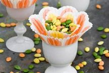 Seasonal Inspiration: Spring / Easy and inexpensive ideas for Easter, Mother's Day and St. Patricks Day. Includes easy crafts and fun recipes.