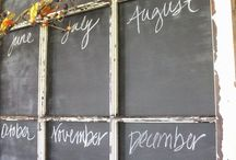 Chalkboard Ideas / by Marty's Musings DIY/Home Blog