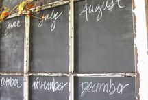 Chalkboard Ideas / by Marty Walden @ MartysMusings