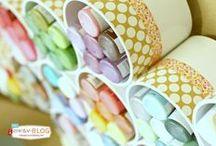 Craft Room Organization / Ways to organize your craft room! / by Ashley Deeb