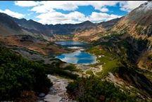 European nature / European mountain peaks, breathtaking national parks and nature in Europe.