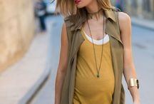 Style - Pregnancy / What to wear when you are expecting. A pregnant belly is inspiring. It is meant to be flaunted - not hidden! Here are style ideas to let you do just that!