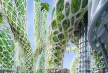 GREEN  - Architecture / Urban farming; Sustanaible building; Vertical farming; Rainwater & Stormwater management... Zelená architektura.