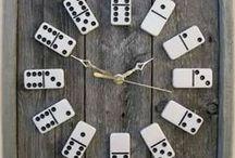 IDEAS - Clock / Buy clockwork and CREATE.! DYI clock... Vyrobit si své nástěnné hodiny není tak těžké!