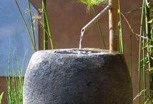 GARDEN - Water / DYI - Water in the backyard... Využití vody na zahradě a na dvorku.