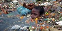 THREATS ! / Overpopulation...Plastic oceans...Migration...Palm-oil...Deforestation...Climate changed...Trophy hunting...Slaughter dolphins...etc. = CIVILISATION ?!? H R O Z B Y pro současnou civilizaci.