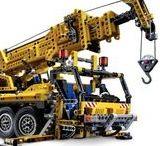 LEGO - Technic / For the big guys... Hračky spíše pro velké kluky - tatínky a dědečky.