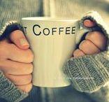LIFE - Coffeeeeeeeeeeeeeeeeee!!!!!! / Keep calm and drink coffee :-) Good ideas start with great coffee.... Kdo kávu nepije, špatně se mu žije!