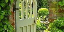 GARDEN - Gate / Important detail ...gate. DIY. Vrata a vrátka nemusí být vratká...