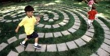 IDEAS - Labyrinth / Why not labyrinth?...In recent years, there has been a resurgence of interest in labyrinths and a revival in labyrinth building... It is beautiful and mystical. Mystická síla labyrintů.