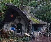 IDEAS - Storybook House / Storybook style house and cottage....Ultimate treehouse.....Clever and funny house....Kids treehouse....
