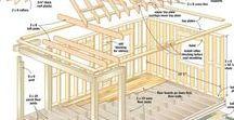 HOW TO BUILD - Tools shed / Storage shed ... Tool shed.   Jak postavit kůlnu na nářadí.