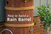 IDEAS - Rain barrel / DYI rain barrel. Zadržte déšť...