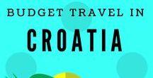 Budget Travel in Croatia / #budgettravel, #Croatia, #travel, #backpackers, #hostels, #hotels, #resorts, #landscapes, #landmark, #museum