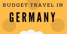 Budget travel in Germany / What to see in Germany, popular #museums, best #landmarks, #budget #accommodations, #hostels, #hotels, #travel #tips.
