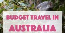 Budget Travel in Australia / Huge tropical rainforests and wide deserts, breathtaking under-water views, unusual animals and birds, old and unordinary culture - that's #Australia. #travel #tips what to see, which #landmarks, #museums visit, in which #hotels, #hostels stay for a night.