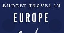 Budget Travel in Europe / A collection of popular places in Europe. #travel, #backpackers, #destination, #inspiration, #sites, #events, #attractions, #museums, #landmarks, #Europe