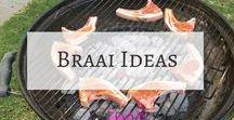 Braai Ideas / Ideas for creating the perfect South African Braai | Braai recipes | Summer drinks | braai inspiration | braai day | braai side dishes | braai party | braai salads | braai food