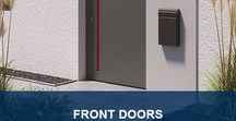 Front Doors / heroal offers a wide range of aluminum front doors to create the perfect entrance area for your home.