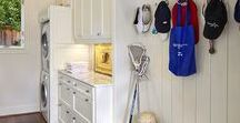Laundry/Mudrooms / Laundry room and Mudroom designs from Blackline Renovations and other inspirational photos.