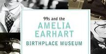 Amelia Earhart Birthplace Museum / Amelia Earhart's birthplace home is maintained by the Ninety_Nines women's pilots organization, as a museum open to the public. Amelia Earhart was an inspiration to women throughout the history of aviation, who dreamed of becoming a pilot. Amelia was a pioneer, a legend, and one of the Founding members of the Ninety-Nines.