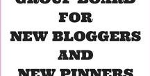!Group Board for New Bloggers and New Pinners! / Are you a new blogger or a new pinner?  Have you heard about group boards?  Join this Board which is especially for new bloggers to get used to group boards. To join please follow me on Pinterest and send me an email with your Pinterest name (found in your profile) and with the subject Join New Bloggers and Pinners Group Board to contact@moneysavingjourneys.com . Then pin your own content and that of others to the Board. Any questions, please email. I am happy to help. Happy Pinning!