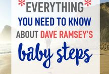 Financial Freedom / Pins to help you achieve financial Freedom. Dave Ramsay, baby steps, emergency fund, debt repayment, money saving.