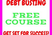 Debt Busting / Do you want to begin to clear your #debt?  These pins contain lots of great information to help you. Covering areas such as #snowballmethod #budgets ##reducingyouroutgoings AND real life debt stories.