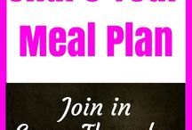 Meal Planning / Meal planning is a brilliant way of cutting your grocery spend. Every Thursday I share my meal plan on the blog and encourage you to share yours with me.