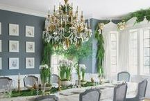Home For The Holidays / Holiday Pinspiration from Noir Blanc Interiors