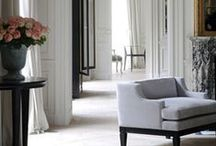 High Rise Client Inspiration Board / Chicago Gold Coast Client  ~Noir Blanc Interiors