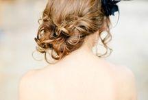 Je fais ce que je veux, avec mes cheveux ! / #epingler #wedding  #hairdoe #coiffure #chignon #coiffedécoiffé #mariage #original