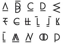 Lettres dessinées / by Ben Riollet