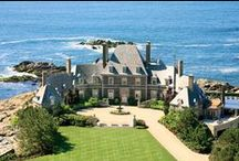 Newport Rhode Island / As a stylish designer living by the beach.  Beautiful designs inspires me to be creative. I am constantly surrounded by the beauty that water brings into ones life and home. I hope you enjoy my musings on design, decor, and everything Newport.