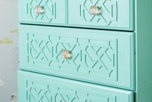 DIY * furniture / Refinished or handmade furniture...painting ideas or DIY fixes