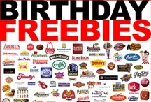 FREE Birthday Stuff / BIRTHDAY FREEBIES – FREE Birthday Food, FREE Birthday Meals & FREE Birthday Stuff!  / by Freebie Depot