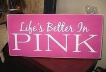"""I believe in pink."" ~ Audrey Hepburn / Everyone needs more pink in their lives. / by Mary Ellen Urbanski"