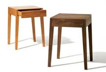 small furniture / kleinmöbel / coffee tables, bedside tables, nest of tables, console tables, magazine racks, valets etc.