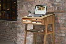homeoffice / desks, standing desks, secretary  l   schreibtische, stehpulte, sekretäre
