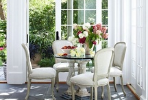 """The Art Of Entertaining / """"It doesn't matter your style or where you do it.  What is life without dinner parties."""" ~ Barbara Segal"""