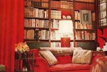 Red Interior / Red Interiors We Love At Noir Blanc Interiors