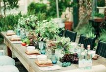 Spring Entertaining / Throw a spring party with inspiration from these  entertaining ideas.
