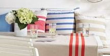 Summer Entertaining / With A Life Time Of Experiences In The Art Of Soiree's, Summer Homes, Yachting, & Beach Living      .....................Noir Blanc Interiors Is Well Versed In Summer Entertaining.