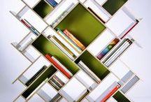 shelves, bookcases