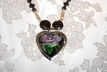 Necklaces / Unique one of a kind necklaces for sale. http://artbymichelewilson.com/necklaces.htm / by Michele Wilson