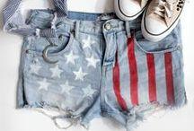 Fourth of July diy / DIY with patriotic spirit